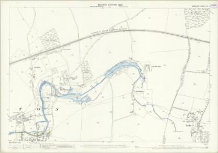 Hampshire and Isle of Wight XVII.11 (includes: Overton) - 25 Inch Map