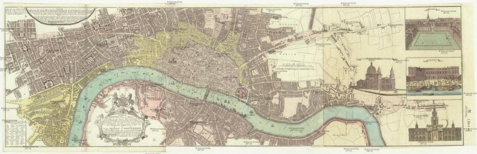 Vrbium Londini et West-Monasterii, nec non suburbii Southwark