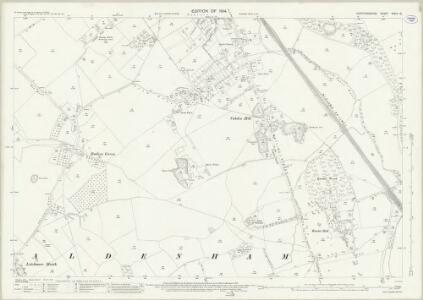Hertfordshire XXXIX.16 (includes: Aldenham) - 25 Inch Map