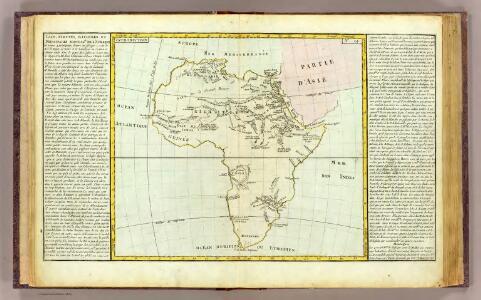 L'Afrique lacs, fleuves ...