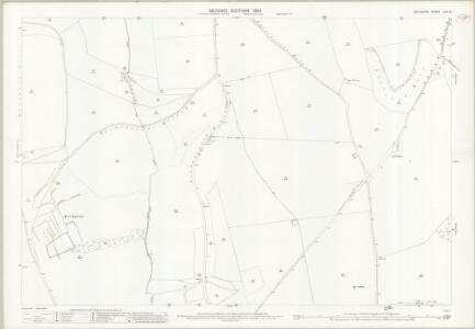 Wiltshire LXX.12 (includes: Bishopstone; Broad Chalke) - 25 Inch Map