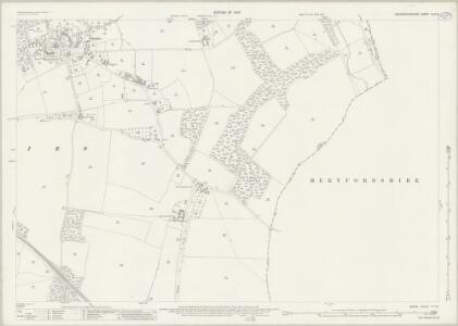Buckinghamshire XLIII.8 (includes: Chenies; Chorleywood) - 25 Inch Map