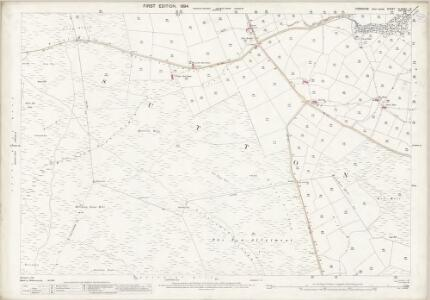 Yorkshire CLXXXV.13 (includes: Cowling; Keighley; Sutton) - 25 Inch Map