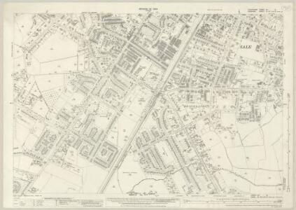 Lancashire CX.12 (includes: Altrincham; Manchester; Sale) - 25 Inch Map