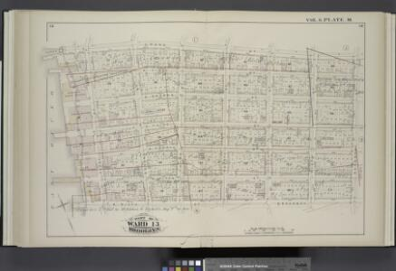 Vol. 6. Plate, M. [Map bound by Grand St., Seventh St., Broadway, S. Sixth St., East River; Including S. First St., S. Second St., S. Third St., S. Fourth St., S. Fifth St., River St., First St., Second St., Third St., Fourth St., Fifth St., Sixth St.]