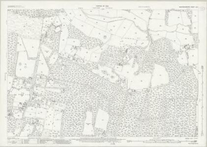 Buckinghamshire LIII.7 (includes: Fulmer; Stoke Poges; Wexham) - 25 Inch Map