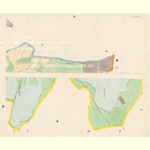 Czegkowitz - c0823-1-002 - Kaiserpflichtexemplar der Landkarten des stabilen Katasters