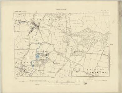Northamptonshire XXV.NW - OS Six-Inch Map