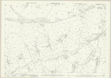 Denbighshire XI.8 (includes: Llangernyw) - 25 Inch Map