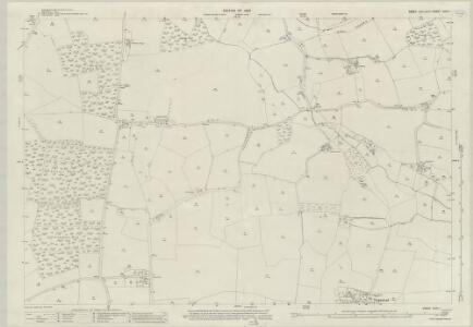 Essex (New Series 1913-) n XVII.1 (includes: Bulmer; Great Henny; Little Henny; Twinstead) - 25 Inch Map
