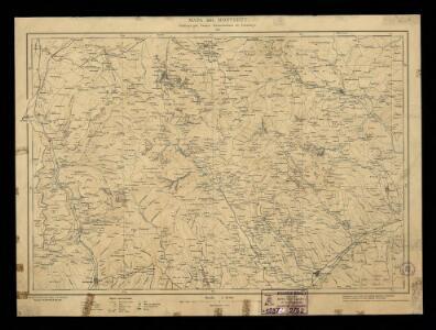 Mapa del Montseny / publicat pel Centre Excursionista de Catalunya; executat a base d'altres mapes existents i en part aixecat per Léo Aegerter