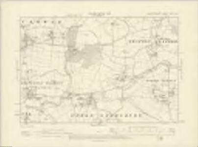 Worcestershire XXXIV.NE - OS Six-Inch Map
