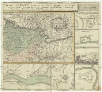 Theatrum belli inter imperat. Carol VI. et sult. Achmet IV. in partibus regnorum Serviae et Bosniae