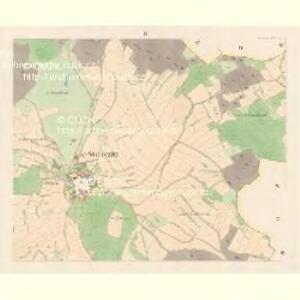 Stoborzitz (Stoborzic) - c9206-1-003 - Kaiserpflichtexemplar der Landkarten des stabilen Katasters