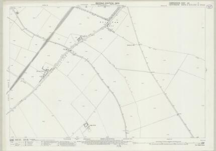 Cambridgeshire LXII.7 (includes: Ashwell; Bygrave; Guilden Morden; Kelshall; Sandon; Wallington) - 25 Inch Map