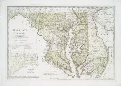 Maryland und Delaware / entworfen von D.F. Sotzmann ; W. Sander, sculp.