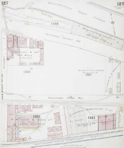 Insurance Plan of the City of Manchester Vol. IV: sheet 127