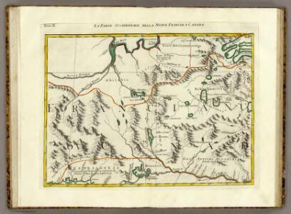 La Parte Occidentale della Nuova Francia o Canada.