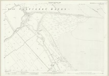 Lincolnshire XLIX.3 (includes: Saltfleetby All Saints; Saltfleetby St Clement; Skidbrooke with Saltfleetby Haven) - 25 Inch Map