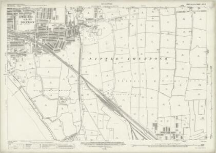 Essex (New Series 1913-) n XCV.7 (includes: Thurrock) - 25 Inch Map