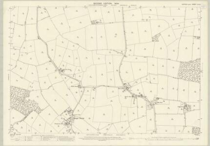 Suffolk LV.14 (includes: Cockfield; Felsham; Thorpe Morieux) - 25 Inch Map