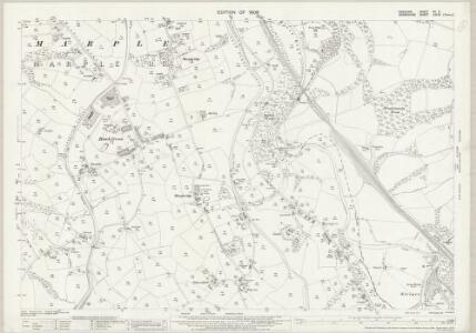 Cheshire XX.6 (includes: Marple; New Mills) - 25 Inch Map