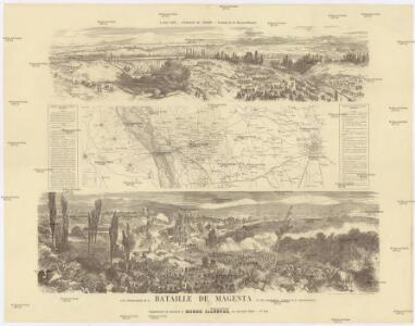 Plan topographique de la Bataille de Magenta