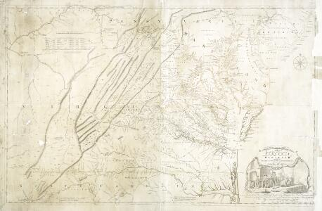 A map of the most inhabited part of Virginia: containing the whole province of Maryland with part of Pensilvania, New Jersey and North Carolina / drawn by Joshua Fry & Peter Jefferson in 1775.