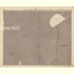 Eisenstein Dorf - c7755-2-005 - Kaiserpflichtexemplar der Landkarten des stabilen Katasters