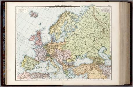 Europe General Map