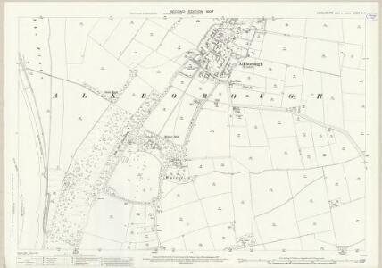 Lincolnshire V.11 (includes: Alkborough; Garthorpe) - 25 Inch Map
