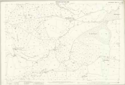 Staffordshire V.5 (includes: Fawfieldhead; Heathylee) - 25 Inch Map
