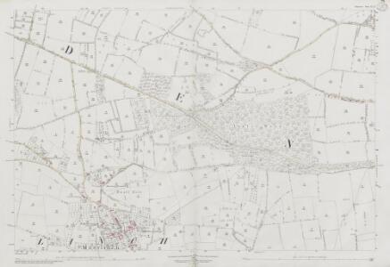 Somerset LI.11 (includes: Catcott; Greinton; Moorlinch; Shapwick) - 25 Inch Map