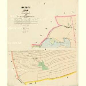 Vierhöf - c1045-1-001 - Kaiserpflichtexemplar der Landkarten des stabilen Katasters