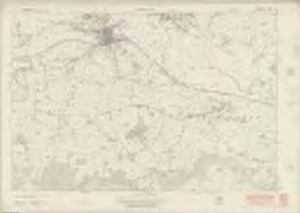 Derbyshire LII - OS Six-Inch Map
