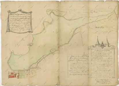 Geometrický plán rybníka Svět s přilehlými pozemky