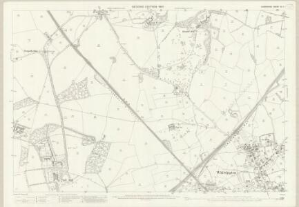 Shropshire XII.11 (includes: Selattyn; Whittington) - 25 Inch Map