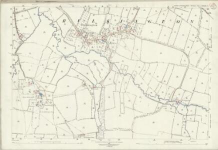 Wiltshire XXXIX.7 (includes: Bulkington; Keevil; Marston; Worton) - 25 Inch Map