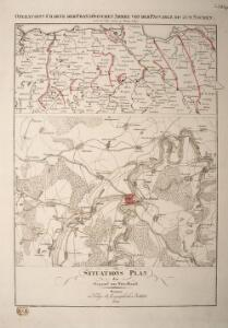 Operations Charte der Französischen Armee von der Passarge bis zum Niemen