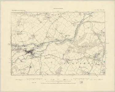 Herefordshire XVII.SE - OS Six-Inch Map