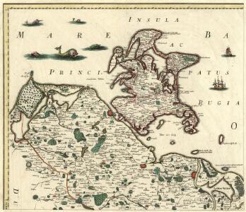 Ducatus Pomeraniae Citerioris Et Ulterioris Principatibus, Comitatibus, Urbibus Suis Definitiae Nova et Ampla Descriptio geographica