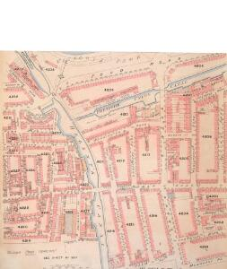 Insurance Plan of London Vol. xi: sheet 382-3