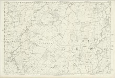 Westmorland XLIII - OS Six-Inch Map