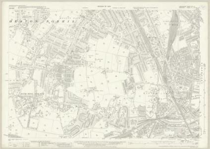 Lancashire CXI.12 (includes: Stockport) - 25 Inch Map