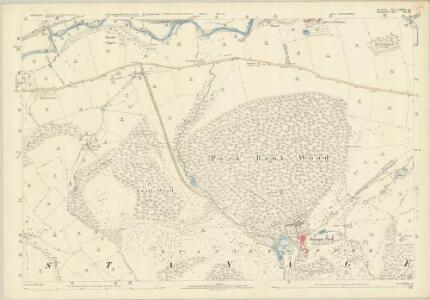Shropshire LXXVI.16 (includes: Stanage; Stowe) - 25 Inch Map