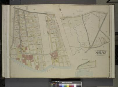 Queens, Vol. 2, Double Page Plate No. 21; Part od     Ward Two Laurel Hill; [Map bounded by Newtown Ave., Berlin Ave., Newtown Creek;  Including Laurel Hill Ave., Laurel Hill Boulevard]; Sub Plan No. 1; [Map bounded by Newtown Ave., Maurice Ave., Old