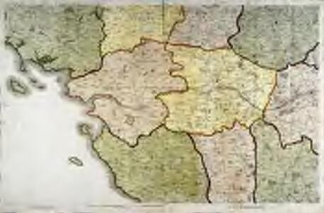 Carte de la France, no. 8