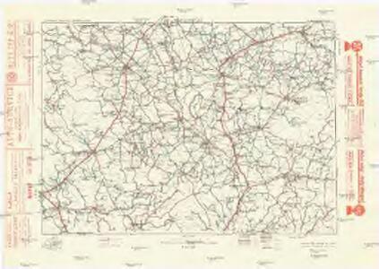 Komunikační mapa země Moravskoslezské