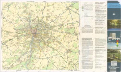 Praha pro motoristy : dopravní plán města