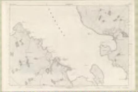 Ross and Cromarty Sheet LXXX - OS 6 Inch map